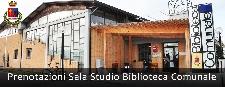 Prenotazioni Sala Studio Biblioteca Comunale