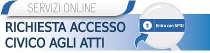 Richiesta di accesso civico agli atti on line