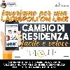 CAMBIO DI RESIDENZA, ON LINE LA PROCEDURA PER LA COMPILAZIONE E L'INVIO DEL MODULO