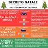 DECRETO NATALE, ECCO LE REGOLE IMPOSTE DAL GOVERNO