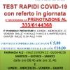 FLAVIA SERVIZI, TEST RAPIDI COVID 19 TUTTE LE INFORMAZIONI