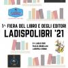 LADISPOLIBRI, FIERA DEL LIBRO DAL 2 AL 4 LUGLIO