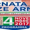 Sabato 4 novembre Giornata delle Forze Armate