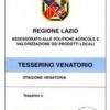 STAGIONE VENATORIA 2021-2022. DA GIOVEDÌ 26 AGOSTO LA CONSEGNA DEI TESSERINI PRESSO L'URP