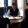 Studenti dell'Alberghiero in udienza dal Sindaco
