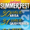 SUMMER FEST 2021: ARISA, GIUSY FERRERI E  THE KOLORS SI ESIBIRANNO IN CONCERTO A LADISPOLI