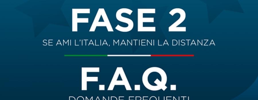 COVID-19 – FASE 2, LE F.A.Q.