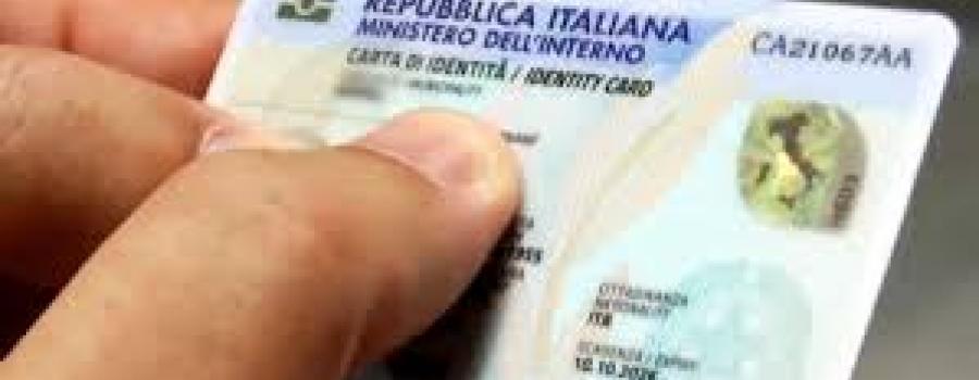 Covid-19, prorogata fino al 31 dicembre la validità dei documenti di identità
