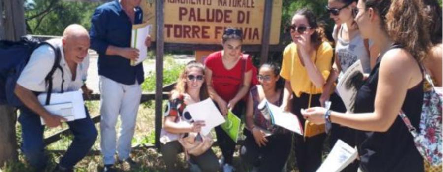 PALUDE DI TORRE FLAVIA, ATTIVATA LA CONVENZIONE PER I TIROCINI DEGLI STUDENTI DELL'UNIVERSITÀ ROMA3