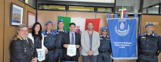 Sottoscritta la convenzione tra l'Amministrazione e l'Associazione nazionale di polizia penitenziaria